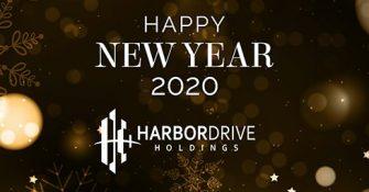 Happy New Year 2020 - Harbor Drive Holdings